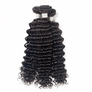 Vbena Deep Wave Hair Human Hair 4bundles