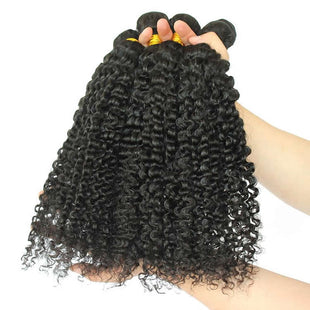 Vbena Curly Virgin Hair 1bundles Human Hair Extensions Jerry Curly Hair