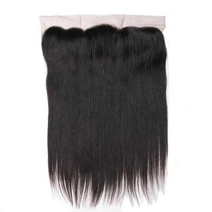 Vbena Brazilian Straight 13x4 Ear to Ear Full Lace Frontal Closure With 3Bundles Weft