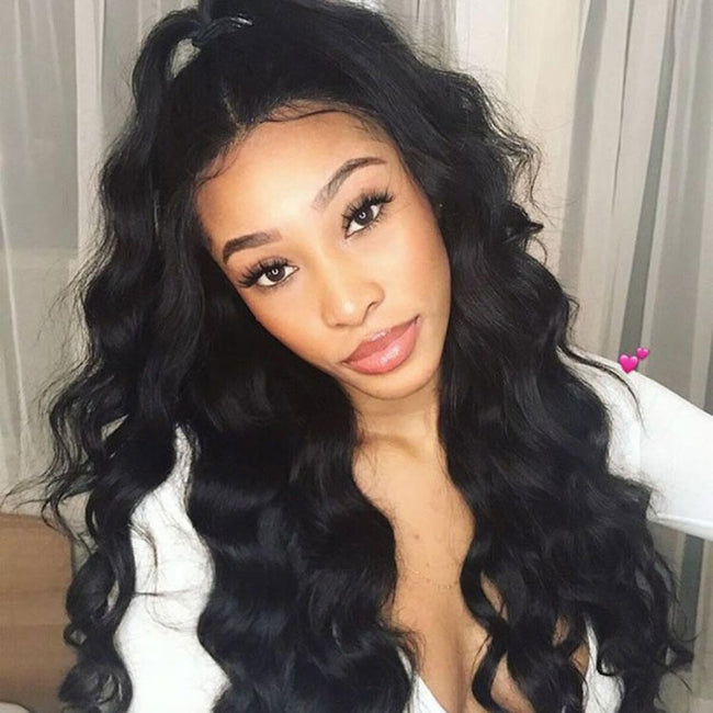Vbena Malaysian Natural Wave 4Bundles with Lace Closure Virgin Human Hair Weaves