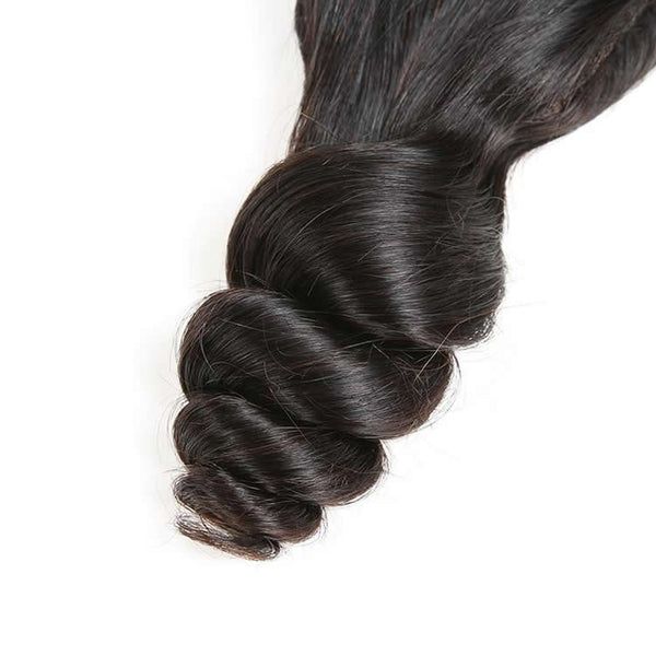 Vbena Indian Loose Wave Hair 4x4 Lace Closure With 3Bundles Deals