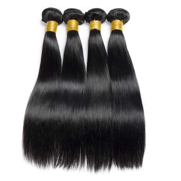 Vbena Straight Hair 3Bundles Unprocessed Virgin  Human Hair Weave
