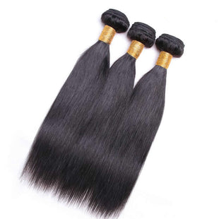 Vbena 3Bundles Peruvian Straight Hair Virgin Human Hair Wavy