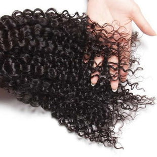 Vbena Peruvian Curly Hair Weave 4 Bundles Virgin Human Hair Bundle Deals