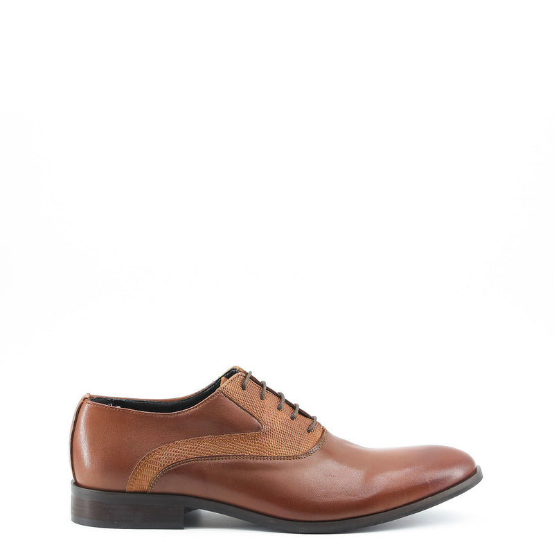 Made in Italia Mens Lace up Shoes - JOACHIM Shoes Lace up JOACHIM_CUOIO-Brown-40 8050750226092