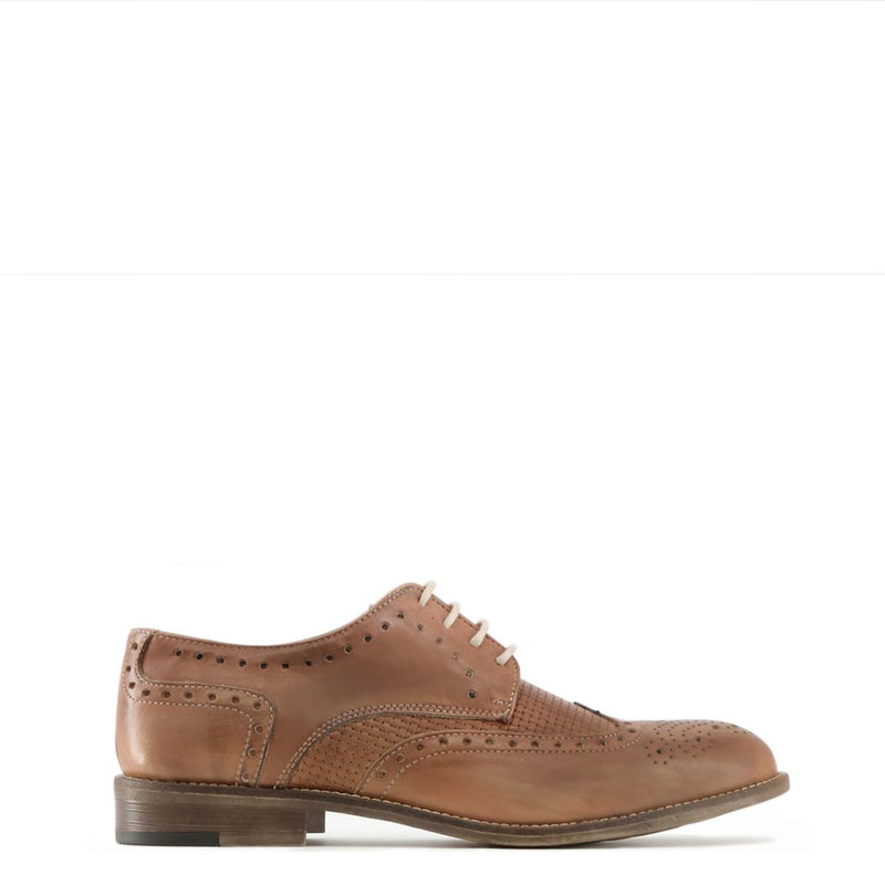 Made in Italia Mens Lace up Shoes - LIVIO Shoes Lace up LIVIO_CUOIO-Brown-40 8050750236749