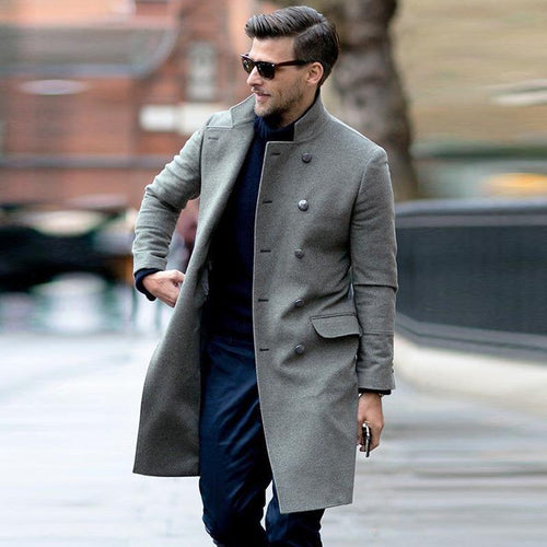 PMS Coat Gray / s Medium Long Coat