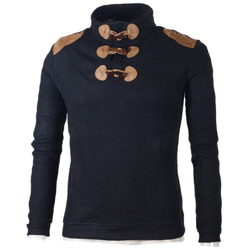 PMS Cotton Blended Mens Sweater