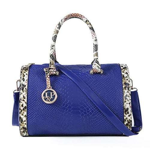 PMS Crocodile Pattern Handbag