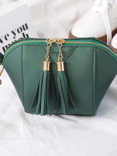 PMS Decortive Tassel Plain  Clutches For Women