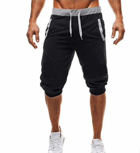 PMS Man's Shorts Black / m Fashion Slim Fit Jogger Shorts
