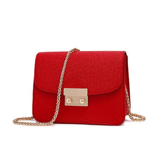 PMS red / one size Fashion Chain Mini Shoulder Bag