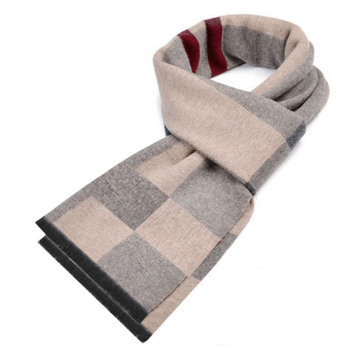 PMS scarf Autumn and winter warm padded plaid cotton casual scarf