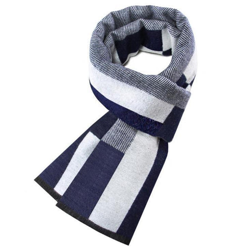 PMS scarf Winter warm imitation cashmere plaid men's scarf