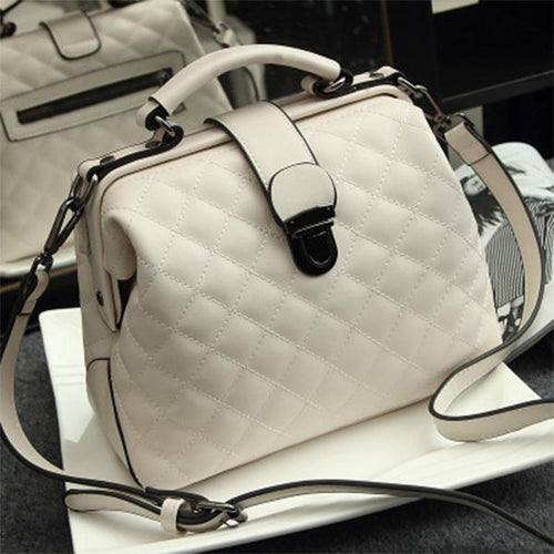 PMS white / one size New Arrival Anti-Theft Women's Leather Shoulder Bag
