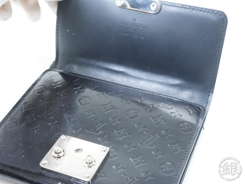 AUTHENTIC PRE-OWNED LOUIS VUITTON MONOGRAM GLACE PORTEFEUILLE ANOUCHKA PM BAG PURSE M92232 152844