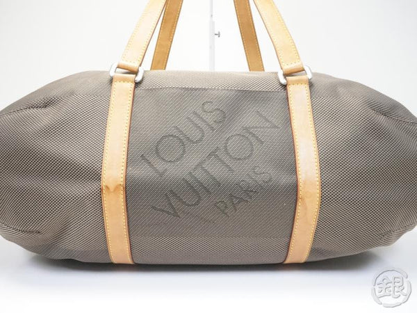 AUTHENTIC PRE-OWNED LOUIS VUITTON DAMIER GEANT TERRE ATTAQUANT TRAVEL SHOULDER BAG M93064 150526