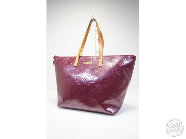 AUTHENTIC PRE-OWNED LOUIS VUITTON VERNIS VIOLET PURPLE BELLEVUE GM SHOULDER TOTE BAG M93588 140885