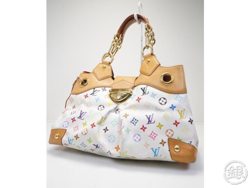 AUTHENTIC PRE-OWNED LOUIS VUITTON MONOGRAM MULTI COLOR URSULA CHAIN SHOULDER TOTE BAG M40123 140678