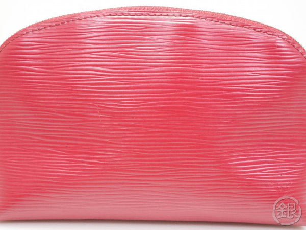 AUTHENTIC PRE-OWNED LOUIS VUITTON EPI FUCHSIA POCHETTE COSMETIC POUCH BAG M40641 172121
