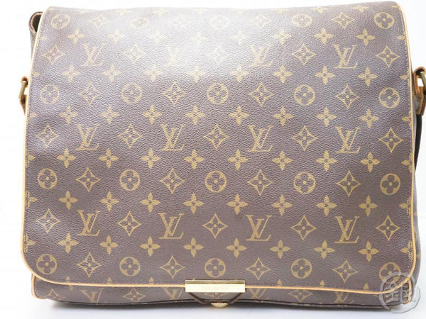AUTHENTIC PRE-OWNED LOUIS VUITTON LV MONOGRAM ABBESSES MESSENGER CROSSBODY BAG M45257 131814