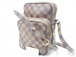 AUTHENTIC PRE-OWNED LOUIS VUITTON DAMIER SPECIAL ORDERED AMAZONE MESSENGER BAG N48074 172658