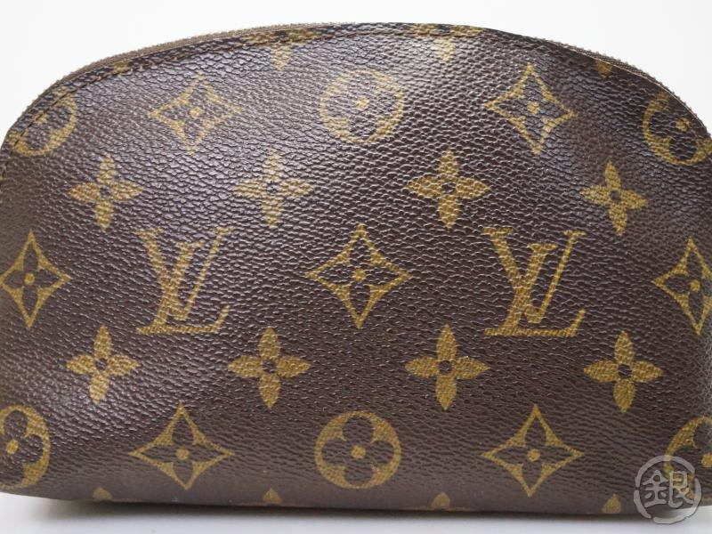 AUTHENTIC PRE-OWNED LOUIS VUITTON MONOGRAM POCHETTE COSMETIC POUCH BAG PURSE M47515 180097