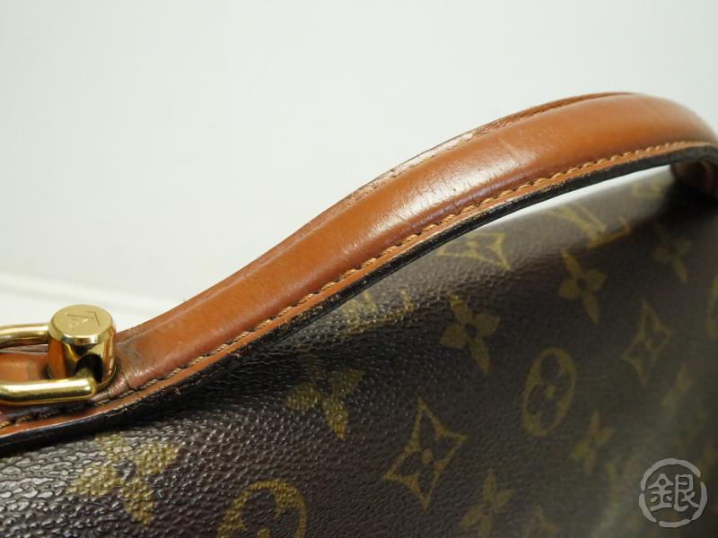 AUTHENTIC PRE-OWNED LOUIS VUITTON MONOGRAM PORTE-DOCUMENTS BANDOULIERE 2-WAY BAG M53338 172821