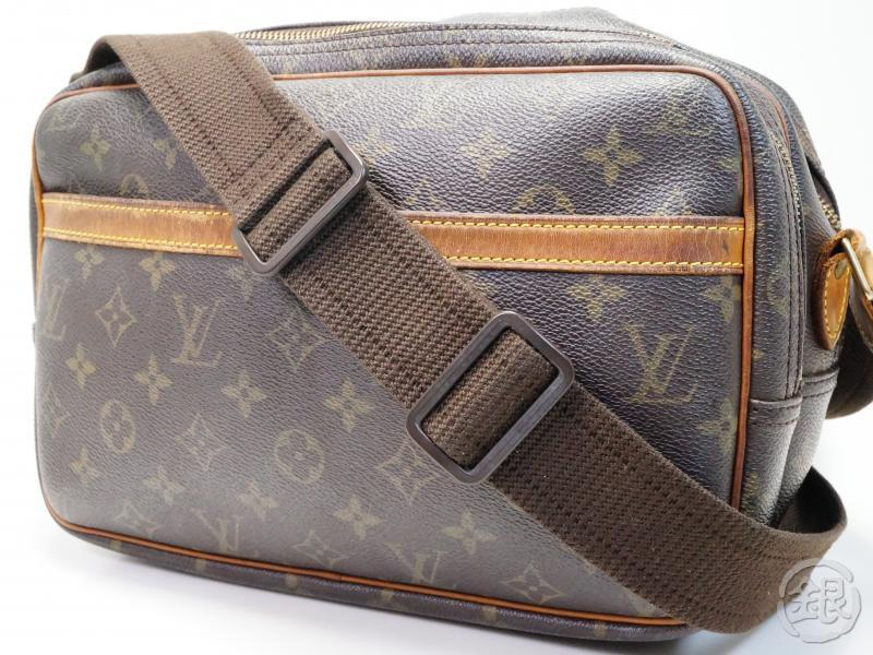 AUTHENTIC PRE-OWNED LOUIS VUITTON MONOGRAM REPORTER PM COMPARTMENT CROSSBODY BAG M45254 180499