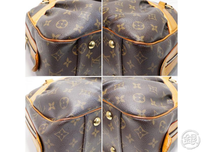 AUTHENTIC PRE-OWNED LOUIS VUITTON LV MONOGRAM MIZI HAND TOTE BAG DUFFLE BAG PURSE M40058 180742