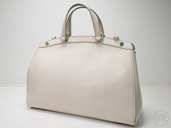 AUTHENTIC PRE-OWNED LOUIS VUITTON EPI IVOIRE IVORY BREA MM HAND TOTE BAG M40330 180757
