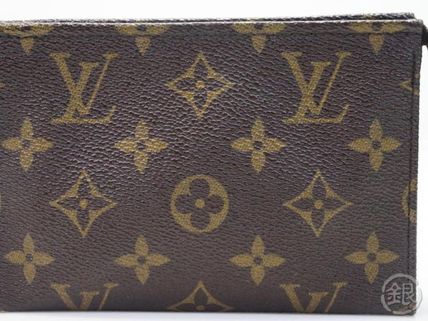 AUTHENTIC PRE-OWNED LOUIS VUITTON MONOGRAM POCHE TOILETTE 15 COSMETIC POUCH BAG PURSE M47546 1805811