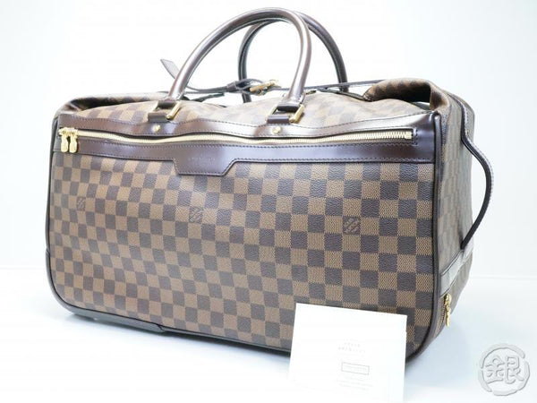 AUTHENTIC PRE-OWNED LOUIS VUITTON DAMMIER EOLE 50 DUFFLE BAG 3-WAY TROLLEY BAG N23205 180867