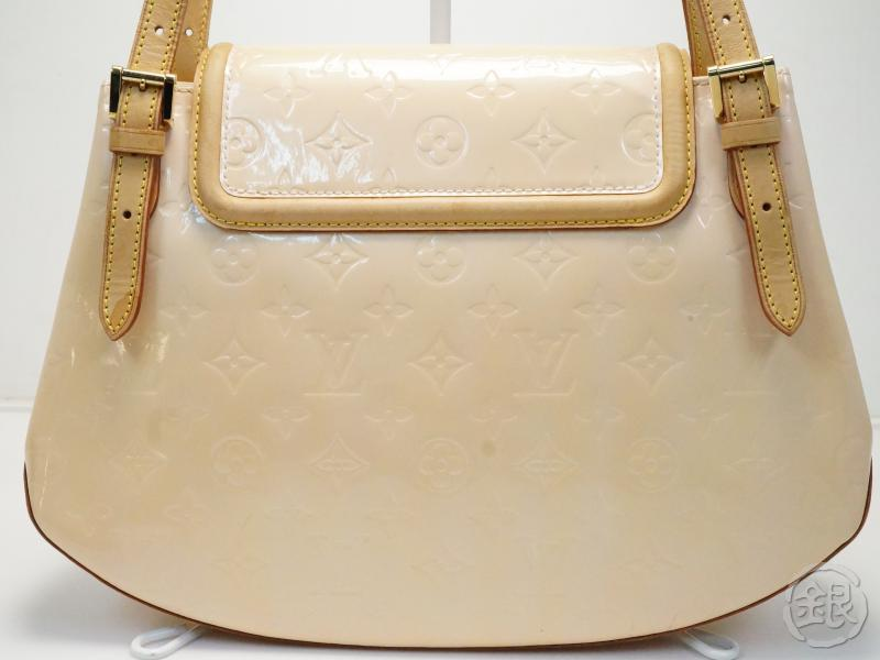 AUTHENTIC PRE-OWNED LOUIS VUITTON VERNIS MARSHMALLOW PINK BISCAYNE BAY GM SHOULDER BAG M91284 181169