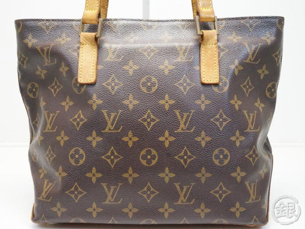 AUTHENTIC PRE-OWNED LOUIS VUITTON MONOGRAM CABAS PIANO SHOULDER TOTE BAG PURSE M51148 181353
