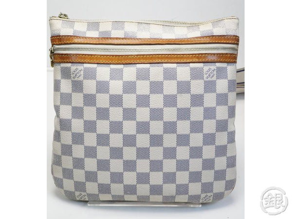 AUTHENTIC PRE-OWNED LOUIS VUITTON DAMIER AZUR POCHETTE BOSPHORE MESSENGER BAG N51112 181317