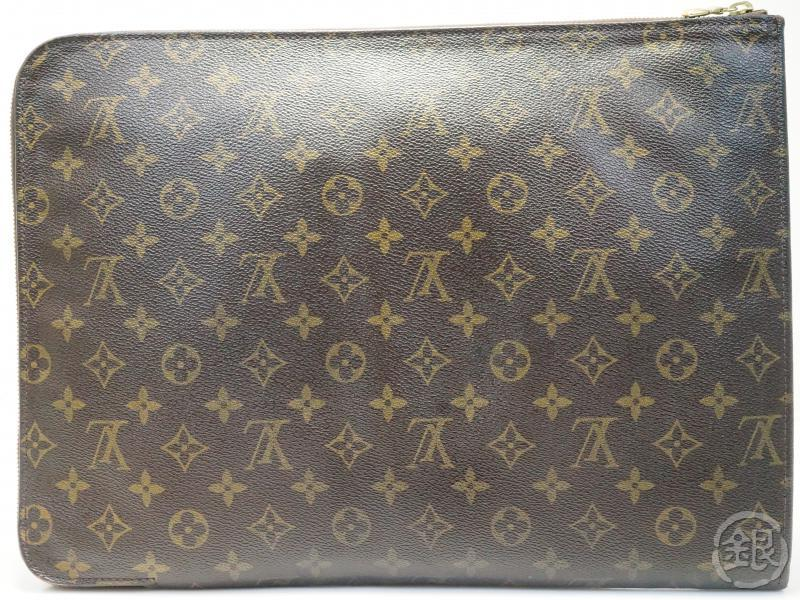 AUTHENTIC PRE-OWNED LOUIS VUITTON MONOGRAM POCHE DOCUMENTS PORTFOLIO GM DOCUMENT CASE M53456 181215