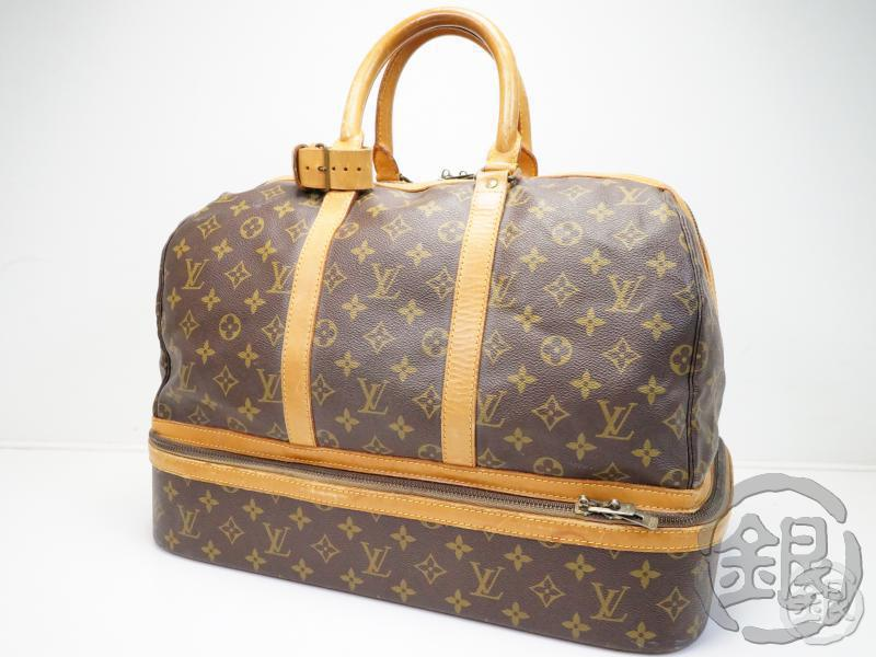 AUTHENTIC PRE-OWNED LOUIS VUITTON VINTAGE MONOGRAM SAC SPORT SOFT LUGGAGE BAG M41444 180531