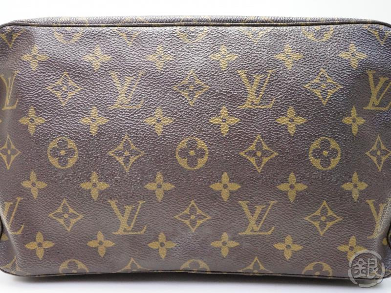 AUTHENTIC PRE-OWNED LOUIS VUITTON VINTAGE MONOGRAM TROUSSE TOILETTE GM COSMETIC POUCH CLUTCH BAG M47522 No.185