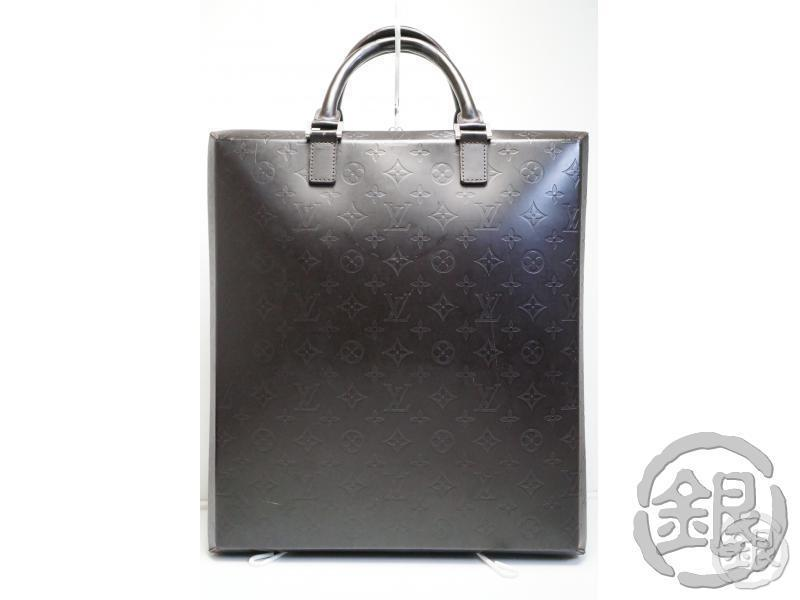 AUTHENTIC PRE-OWNED LOUIS VUITTON LV MONOGRAM GLACE ELVIN DOCUMENT HAND TOTE BAG M46580 181468