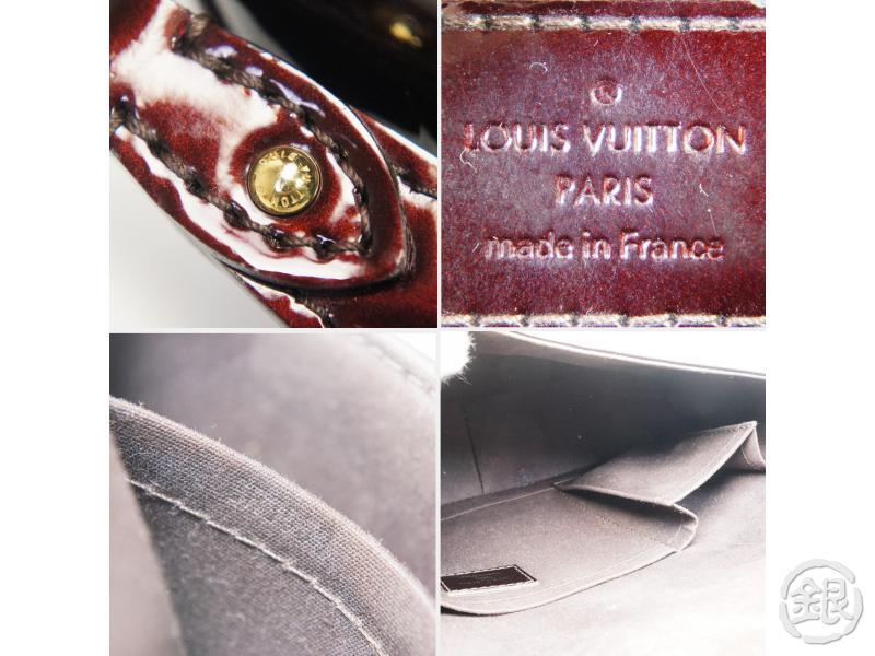AUTHENTIC PRE-OWNED LOUIS VUITTON VERNIS AMARANTE RODEO DRIVE CHAIN BAG POUCH 2-WAY M93598 142573