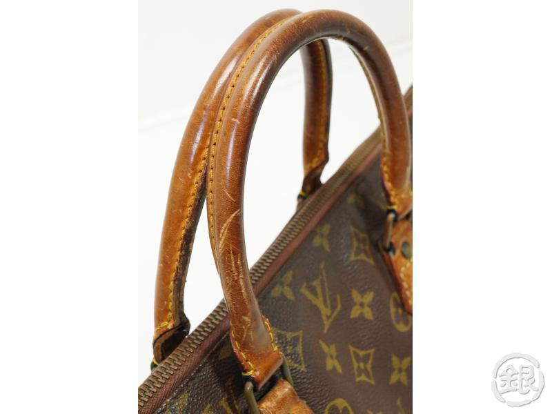 AUTHENTIC PRE-OWNED LOUIS VUITTON VINTAGE MONOGRAM SAC TRICOT TRIANGLE KNITTING NO.76 M51360 181845