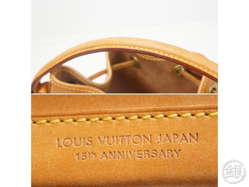 AUTHENTIC PRE-OWNED LOUIS VUITTON LV JAPAN 15TH LIMITED ANNIVERSARY NOMADE MINI NOE M43528 162005