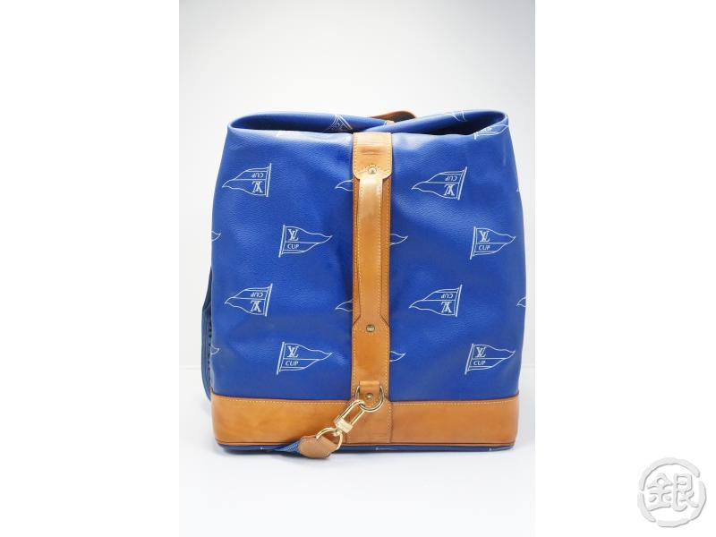 AUTHENTIC PRE-OWNED LOUIS VUITTON CUP 92 LIMITED EDITION SAC MARINE BANDOULIERE TRAVELING BAG 163004