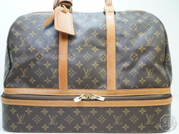 AUTHENTIC PRE-OWNED LOUIS VUITTON VINTAGE MONOGRAM SAC SPORT SOFT LUGGAGE BAG M41444 181837