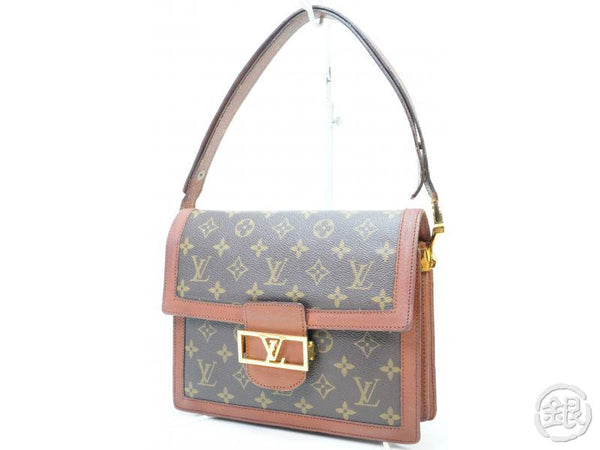 AUTHENTIC PRE-OWNED LOUIS VUITTON VINTAGE MONOGRAM SAC DAUPHINE 2-LENGTH BAG M51410 No.203 163005