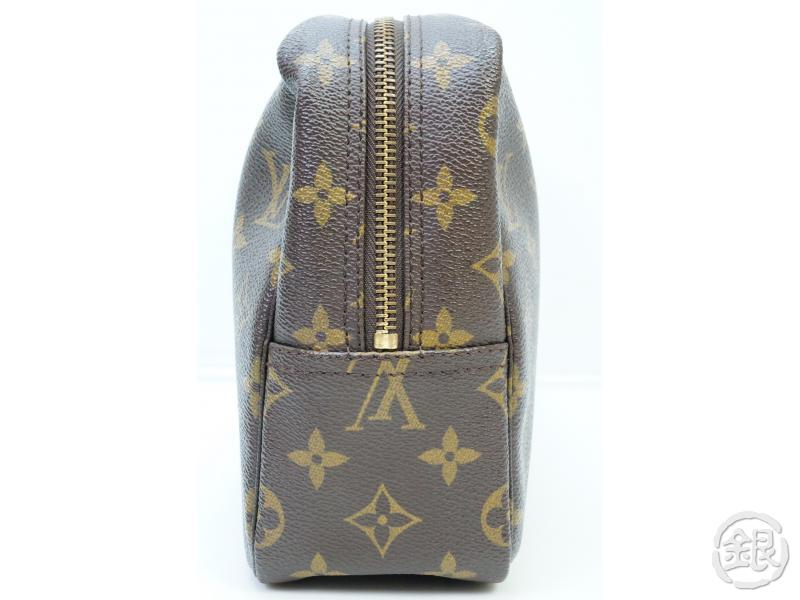 AUTHENTIC PRE-OWNED LOUIS VUITTON MONOGRAM TROUSSE TOILETTE GM COSMETIC POUCH M47522 No.185 182089
