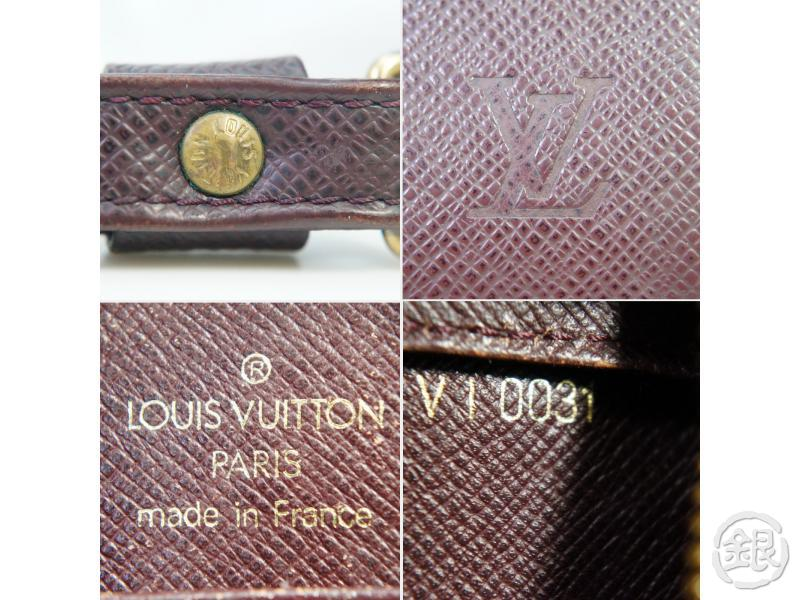 AUTHENTIC PRE-OWNED LOUIS VUITTON TAIGA ACAJOU POCHETTE BAIKAL CLUTCH BAG M30186 182012