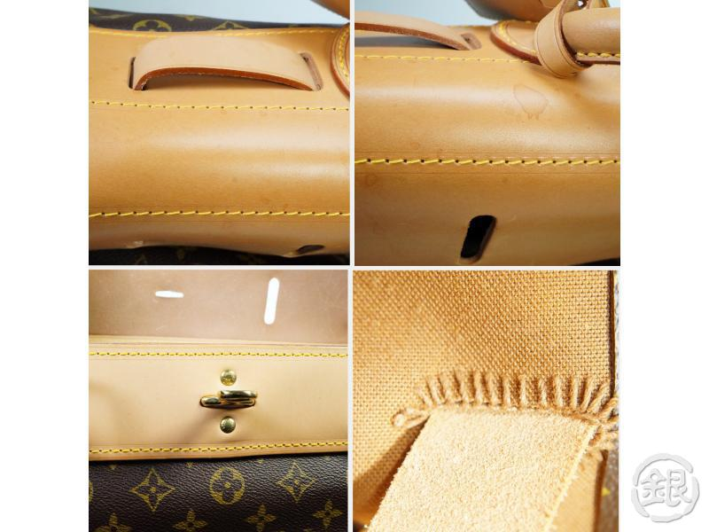 AUTHENTIC PRE-OWNED LOUIS VUITTON MONOGRAM STEAMER BAG 45 LARGE TRAVEL LUGGAGE BAG M41126 163006