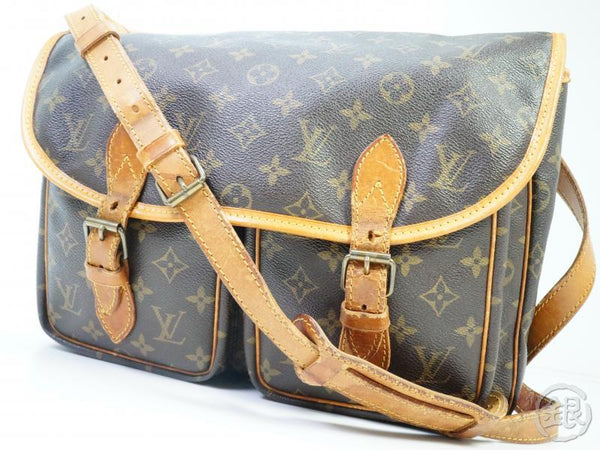 AUTHENTIC PRE-OWNED LOUIS VUITTON LV MONOGRAM VINTAGE SAC BAZAS JAPON MESSENGER BAG M99013 182217